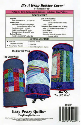 It's A Wrap Bolster Cover