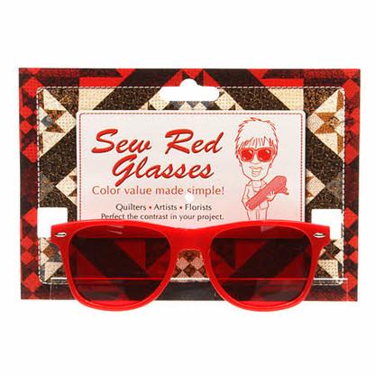 Sew Red Glasses