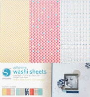 Adhesive Patterned Washi Paper