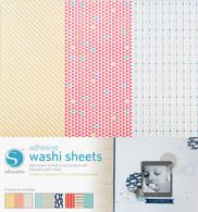 Adhesive Patterned Washi Paper