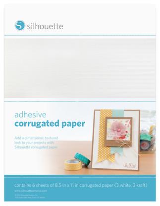 Adhesive Corrugated Paper