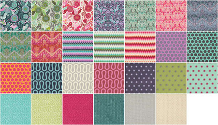 Charm Pack 30 Pieces Ansonia by Denyse Schmidt