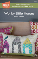 Wonky Little Houses Pillow Pattern