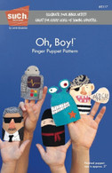 Oh, Boy! Finger Puppet Pattern