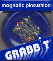 Blue Feather Wrist Grabbit Magnetic Pincushion
