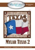 Mylar Embroidery CD Designs Mylar Texas 2