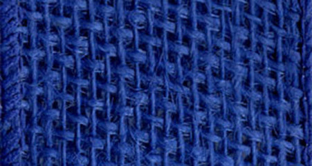 Burlap Wired Ribbon 2-1/2in x 10yd Royal Blue