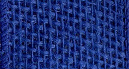 Burlap Wired Ribbon 2-1/2in x 10yd Royal Blue