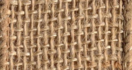 Burlap Wired Ribbon 4in x 10yd Natural