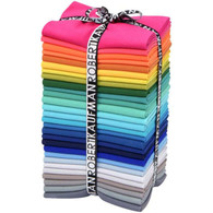 Fat Quarter Kona Solids Summer Colorway 28pcs
