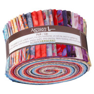 Roll Up Artisan Batiks Spring Mod by Lunn Studios 40pcs