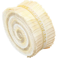 Roll Up Kona Solids Sand Castle Colorway 40pcs