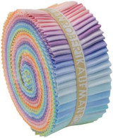 Roll Up Kona Cotton Solids Pastel Palette 41pcs