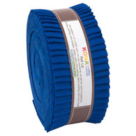 Roll Up Kona Solids Riviera Color 40pcs 2-1/2in Strips