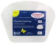 Bosal Ultimate Craft Pack 14-1/4in x 18-1/2in Wedge Placemat 4/pkg
