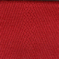 Cotton & Polyester Webbing 2in x 22yd Red