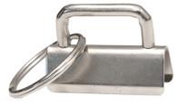 Key Fob 1-1/4in Silver 10/Pkg