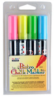 Flourescent Bistro Chalk Marker Set of 4