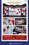 America Land That I Love Bench Pillow Pattern