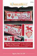 Be My Valentine Bench Pillow Pattern