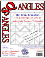 SQangles Half Square Triangle 1/2in-3/4in Finished Size