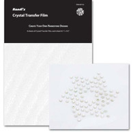 Crystal Transfer Film 8.5in x 9.5in 8/pkg