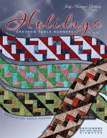 Holidays Chevron Table Runner Pattern