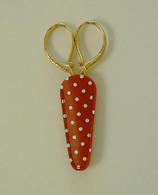Embroidery Scissor Case Red