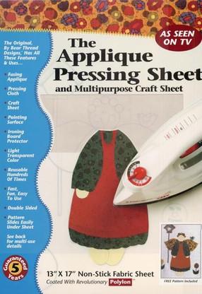 Applique Pressing Sheet 13in x 17in
