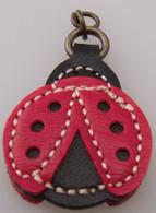 Ladybug Zipper Charm