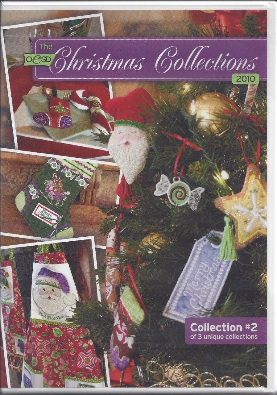 OESD Christmas Collection 2010 CD #2 - Premium Sewing Outlet