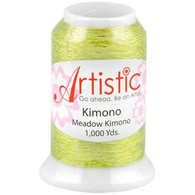 Janome Artistic Meadow Kimono Metallic Thread 1000 Yards