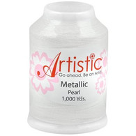 Janome Artistic Pearl Metallic Thread 1000 Yards