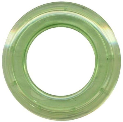 Grommets 25mm Round 8/pkg Clear Lime