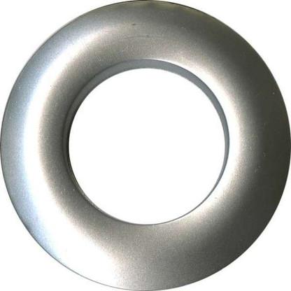 Grommets 25mm Round 8/pkg Matte Silver