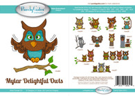 Mylar Delightful Owls CD