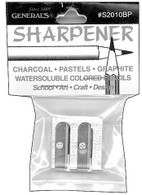 Double Sharpener For Chalk Pencils