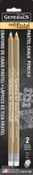 White MultiPastel Chalk Pencils 2/pkg