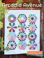 Arcadia Avenue Block of the Month Quilt Pattern