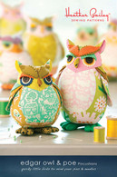Edgar Owl and Poe Pattern