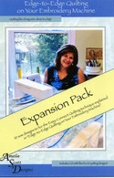 Edge to Edge Quilting Expanded Pack with CD