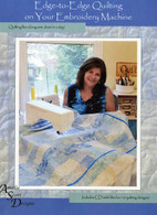 Edge-to-Edge Quilting on your Embroidery Machine with CD - Softcover