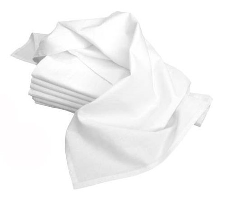 Flour Sack Towels 33in x 38in 2/pkg White