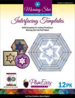 Morning Star Interfacing Template 12/pkg