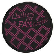 Quilters are Fan-tastic Hand Fan