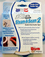 Fusible Tape Steam-A-Seam 2 -  .5in x 20yd