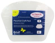 Bosal Craf-Tex Plus 14 1/4 x 18 1/2 in. Wedge Placemat 4/pkg