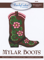 Mylar Boots Embroidery CD