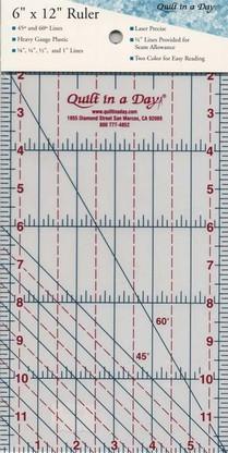 6 in X 12 in Ruler