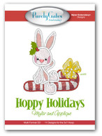 Hoppy Holidays Mylar or Applique with CD